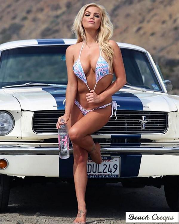 Sexy bikini girl image photo